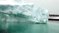 Icebergs in Antarctica Peninsula Stock Footage