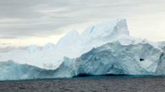 Icebergs in Antarctica Peninsula Stock Footage