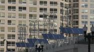 Rooftop Alternative Energy Stock Footage