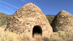 Charcoal kilns Stock Footage