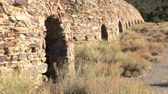Charcoal kilns Stock Footage