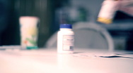 T301 medicare drugs pills pill drug medical Stock Footage