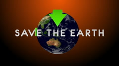 Save The Earth 04 - stock footage