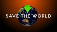 Save The World 04 Stock Footage