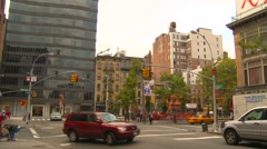 New York City, NoLita buildings and traffic, #2 Stock Footage
