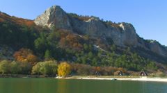 Picturesque place of Mangup in Crimea. 28 Stock Footage