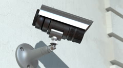 Wondered surveillance camera, loop-able Stock Footage
