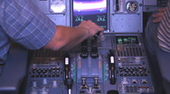 Flight simulator Stock Footage