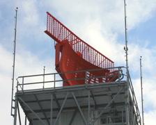 Airport Radar Tower Stock Footage