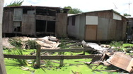 Homes In The Slums Stock Footage