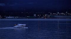 Pre dawn flight Stock Footage