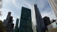 Stock Video Footage of Bryant Park in New York City - Pan Down