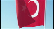 Stock Video Footage of Turkish Flag
