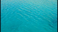 Stock Video Footage of Turquoise Sea