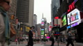 Times Square in New York City with People - Timelapse Footage