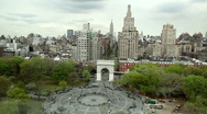 Stock Video Footage of Washington Square Park in New York City - Timelapse