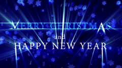 Christmas and New Year 05 Stock Footage