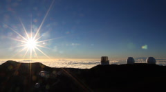 Mauna Kea Time Lapse Stock Footage