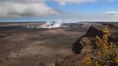Kilauea Crater Stock Footage