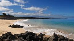 Hawaiian Beach Time Lapse Stock Footage