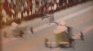 Stock Video Footage of Soapbox Derby, circa 1971