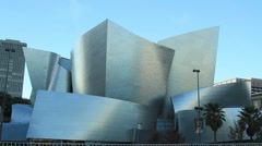 DISNEY CONCERT HALL A2 Stock Footage