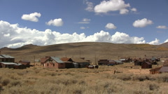 American ghost town Stock Footage