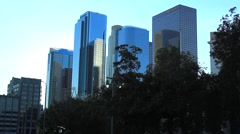 DOWNTOWN BUILDINGS A1 Stock Footage