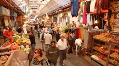 Jerusalem market P3 Stock Footage