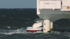 Wave Energy Denmark 02 Stock Footage