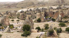 Cappadocia turkey nature fairy chimney miracle holiday tourism 4  Stock Footage