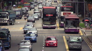 Stock Video Footage of Geylang Traffic 1