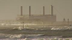 Wave Energy Denmark 06 - stock footage