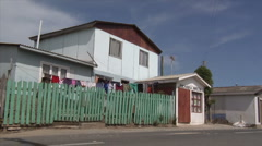 Chile Village at the Sea 1 Stock Footage