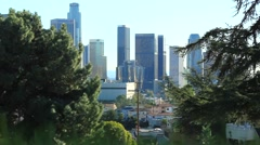 DOWNTOWN LOS ANGELES A3 Stock Footage