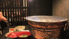 Grilled Japanese Beef Stock Footage