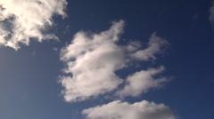 Blue Sky Clouds 1 - stock footage