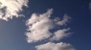 Blue Sky Clouds 1 Stock Footage