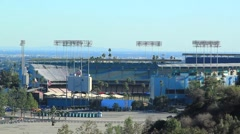 DODGER STADIUM A1 Stock Footage