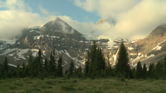 Mount Assiniboine - stock footage