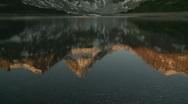 Mount Assiniboine Stock Footage