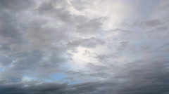 Timelapse clouds Stock Footage