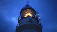 Lighthouse close up Stock Footage