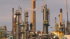Industry, chemical plant, medium shot, 2nd Stock Footage