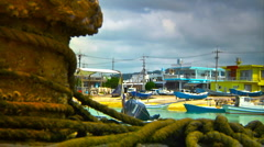 Japanese Port ARTCOLORED 03 Stock Footage