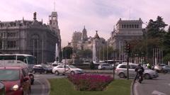 Madrid Stock Footage