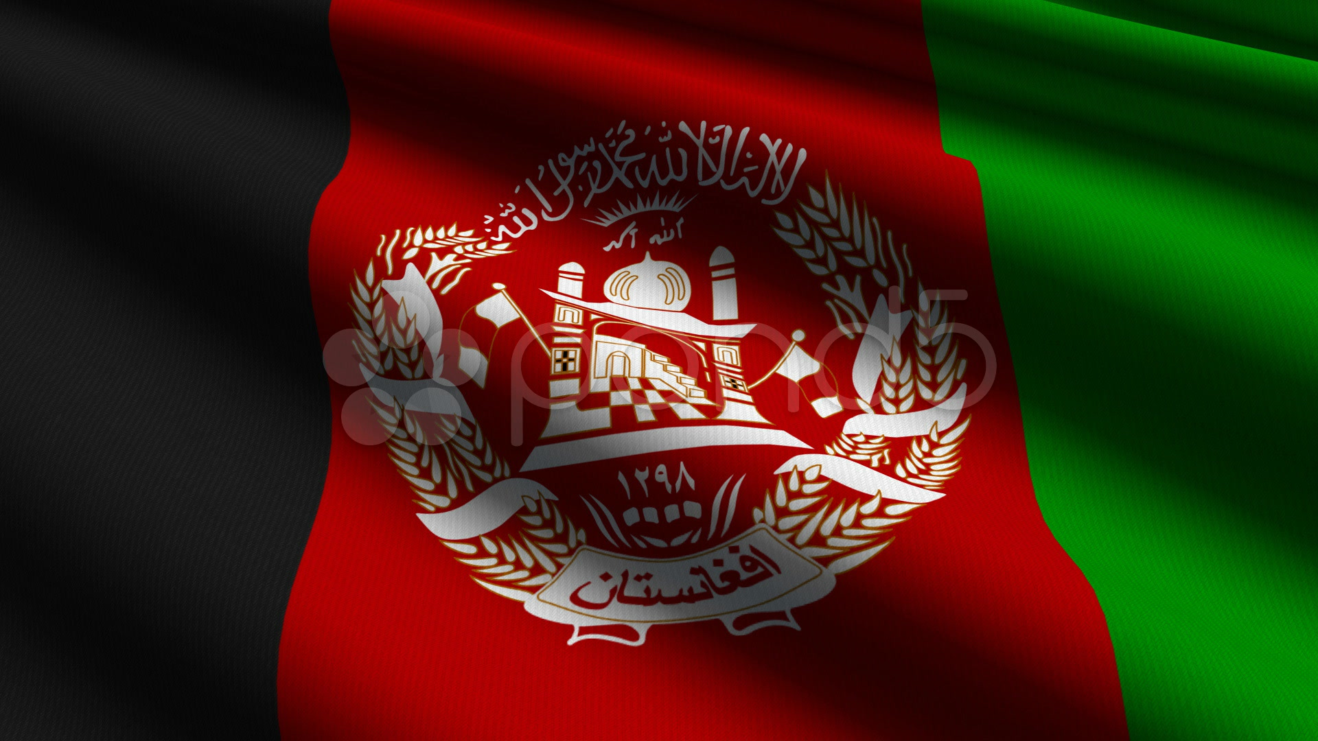 Afghanistan Flag Close Up Hd Amp 4k Stock Footage 927053