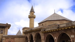 House of-haci-bektas-veli-anatolian-town-mosque-house-islam-sufism-2 HD Stock Footage