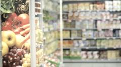 Woman at supermarket; HD Photo JPEG Stock Footage