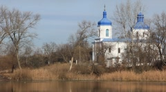 Intercession Cathedral erected in 1622-1629  Stock Footage
